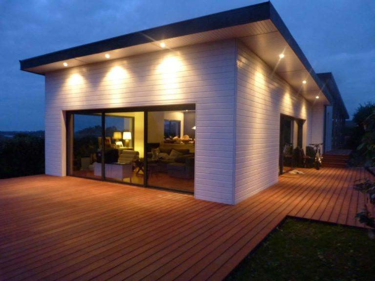 Maison ossature bois de plein pied