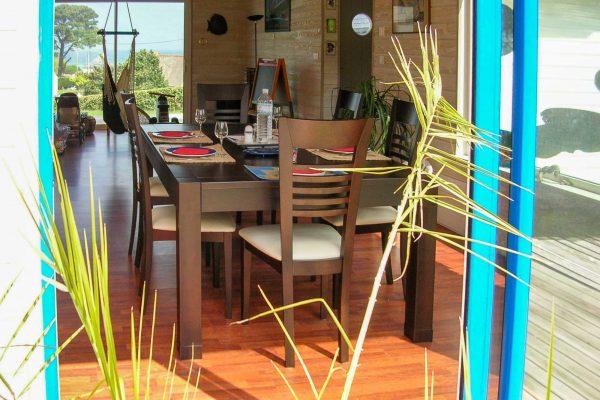 Maison ossature bois - salon