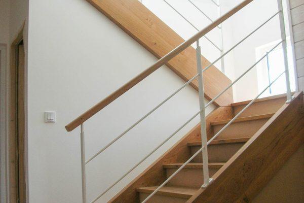 Escaliers maison en ossature bois