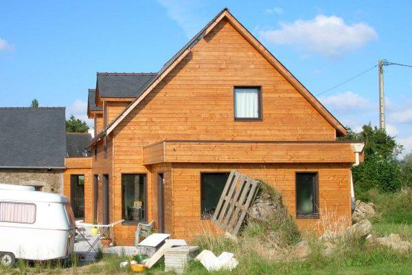 Maison ossature bois Architecte Finistère