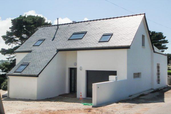 Renovation - extension Plouguerneau . Architecet Finistère
