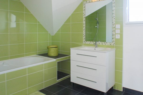Rénovation et extension - salle de bain