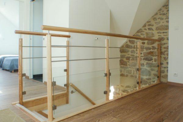 Rénovation et extension - escaliers