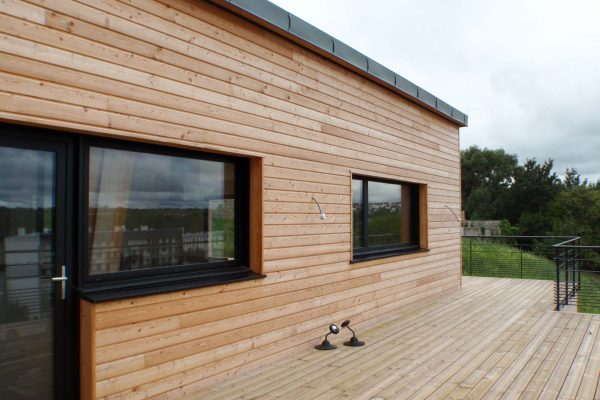 Maison ossature bois Morlaix
