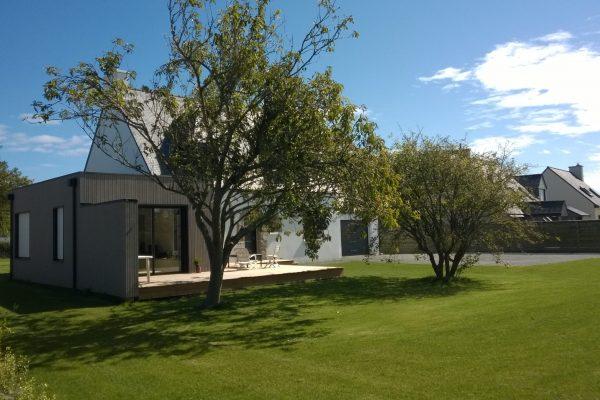 Rénovation-extension ossature bois