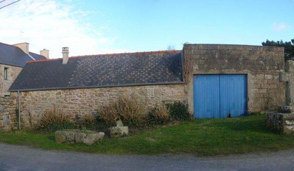 Extension maison en pierres avant