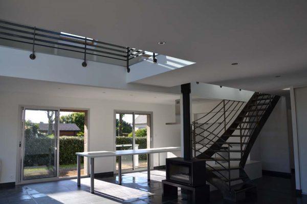 Rénovation intérieure style loft.