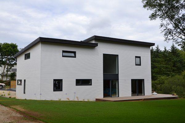 Maison ossature bois bio-climatique