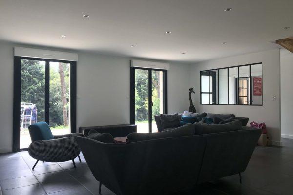Rénovation intérieur, vitrage atelier